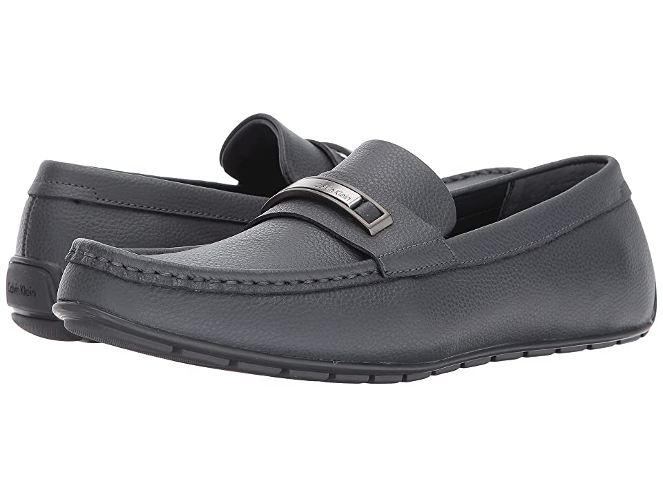Calvin Klein Irving (Grey Tumbled Leather) Men