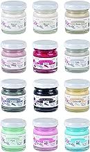 Amelie Prager Kit3001 - Pack de 12 botes de colores básicos para pintura a la tiza