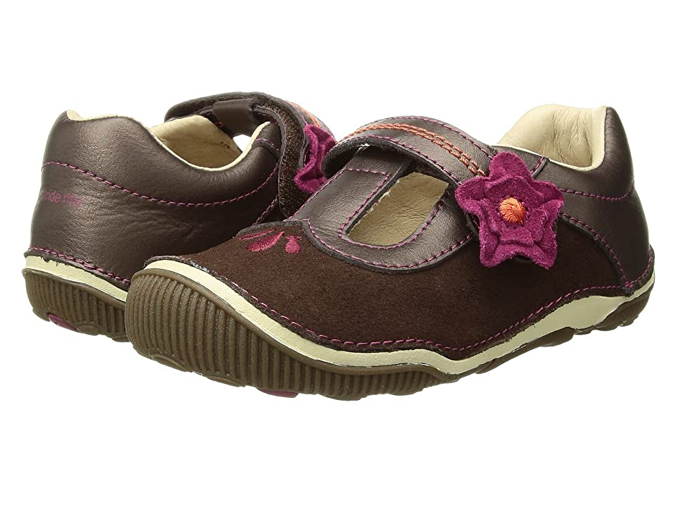 Stride Rite SRT Teagan (Toddler) (Brown) Girl