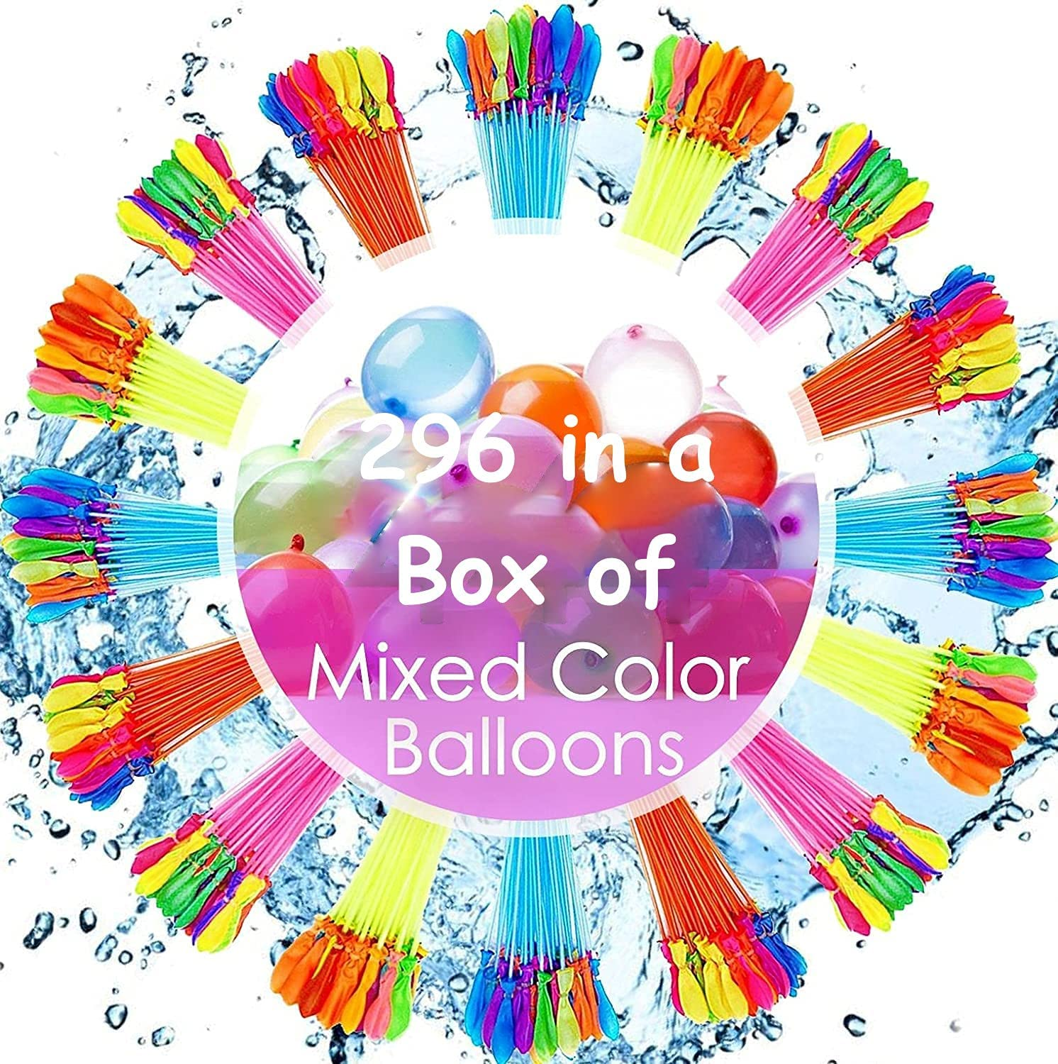 Super New popularity Splash Amazing Water Balloons by SHOP COLLECTIONS favorite MM 296 -