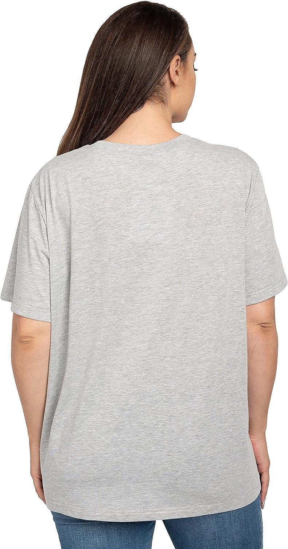 Disney Plus Size Womens T-Shirt Eeyore Butterfly Side Print