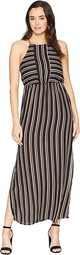 Florence Striped Maxi Dress