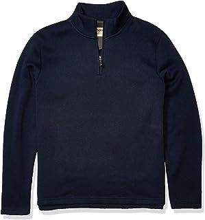 Wrangler Authentics Men's Sweater Fleece Quarter-Zip