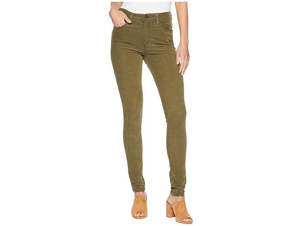 Image of AG Adriano Goldschmied Farrah Skinny in Sulfur Dried Agave (Sulfur Dried Agave) Women's Jeans