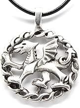 welsh dragon necklace pendant
