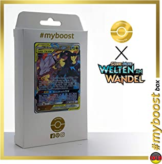 Reshiram & Zekrom-GX (Reshiram et Zekrom-GX) 157/236 - #myboost X Sonne & Mond 12 Welten im Wandel - Coffret de 10 Cartes Pokémon Allemandes