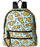 Luv Betsey - Bexx Pizza Print Backpack