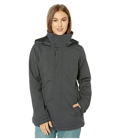 Burton Jet Set Jacket (True Black Heather 1) Women