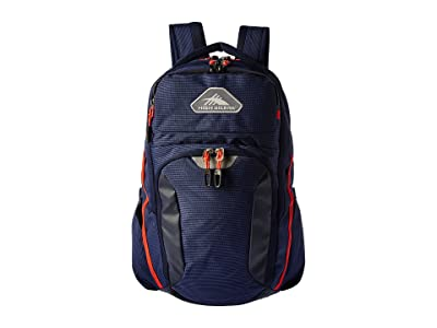 High Sierra Autry Backpack (Maritime/Redline) Backpack Bags