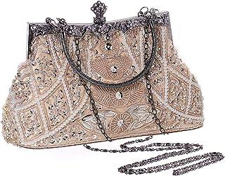 BABEYOND Strass Handtasche Damen 1920s Handtasche Abend Party Clutch Elegante Abschlussball Handtaschen Hochzeit Braut Zub...