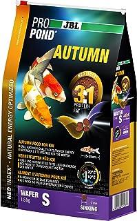 JBL Jesienna karma dla koi, spadająca broń karmy, pokarm sezonowy, ProPond Autumn, rozmiar S, 1,5 kg
