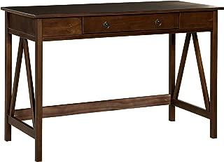 Linon Home Dcor 86154ATOB-01-KD-U Linon Home Decor Antique Tobacco Titian, 45.98