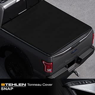 Stehlen 714937188501 Hidden Snap Tonneau Cover - Black For 95-04 Toyota Tacoma / 89-94 Pickup Regular (Standard) / Access (Extended) Cab 6 Feet (72