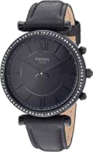 Fossil Women's Carlie Stainless Steel Hybrid Smartwatch with Activity Tracking and Smartphone Notifications