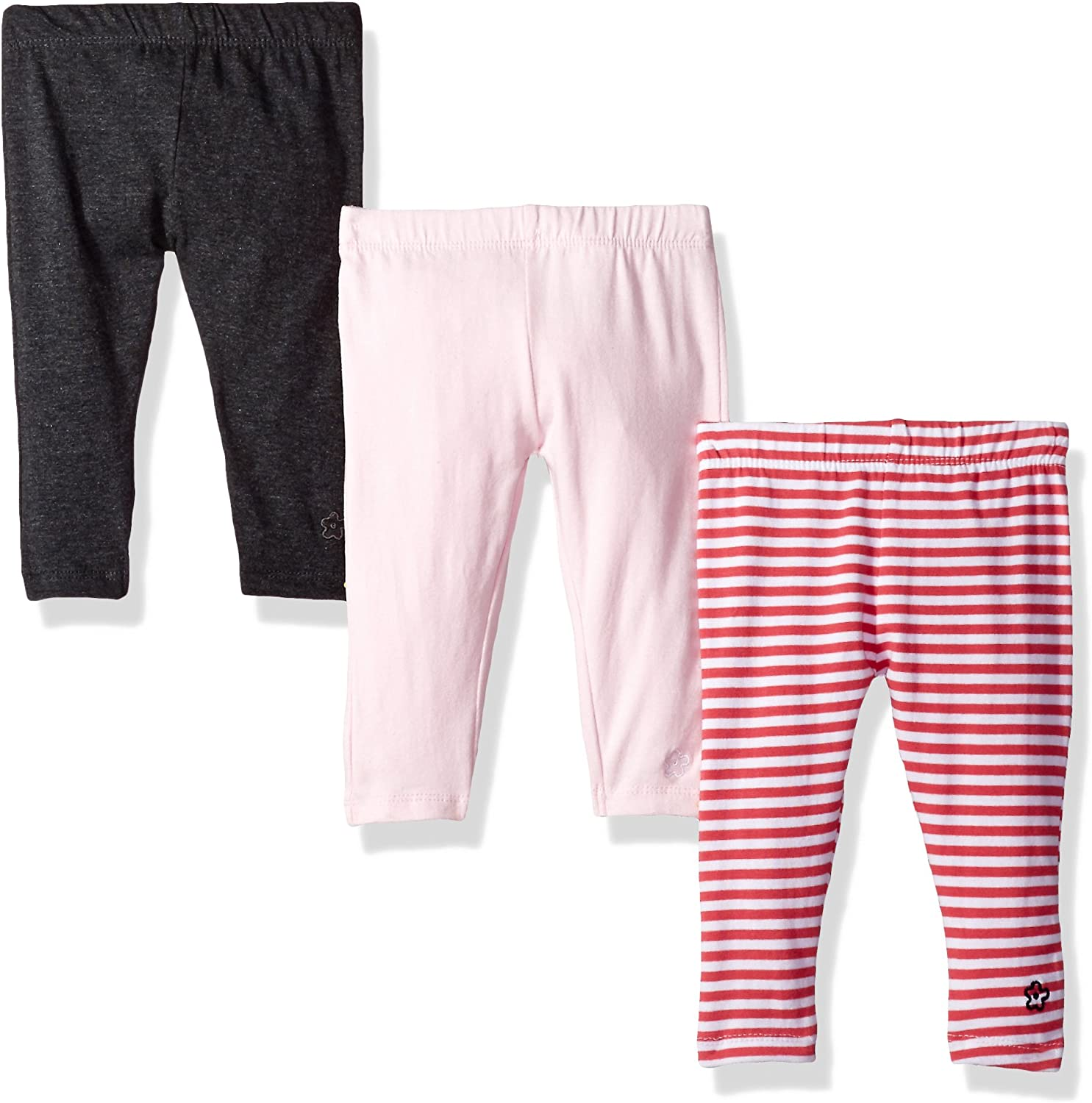 Limited Too Girls' 3 Pack Cotton Spandex Legging