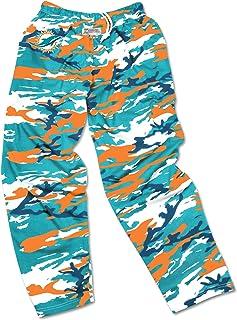 9af5c4305493f Zubaz Men's Officially Licensed NFL Camo Print Team Logo Casual Active Pants