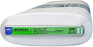 Pellon 820 Quilter's Grid - White - 45