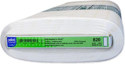 Pellon 820 Quilter's Grid - White - 45