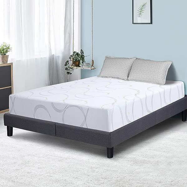 PrimaSleep 9 英寸 Aurora 多层 I 凝胶注入记忆泡沫床垫满