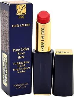 Estee Lauder Women's Pure Color Envy Shine Sculpting Lipstick, 250 Blossom Bright, 0.1 Ounce