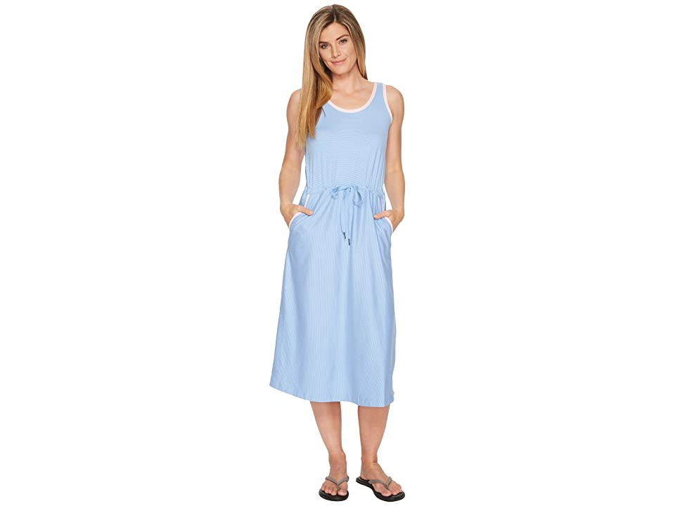Columbia Reel Relaxed Dress (White Cap/Cherry Blossom) Women