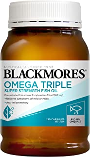 Blackmores Omega Triple Concentrated Fish Oil (150 Capsules)