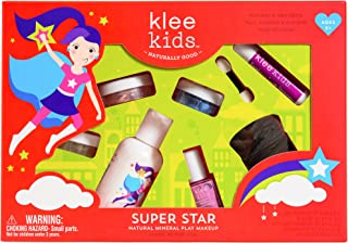 Luna Star Naturals Klee Kids Natural Mineral Makeup 6 Piece Kit, Super Star