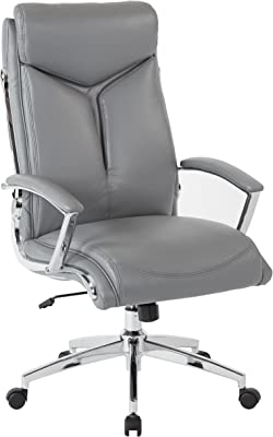 Osp Home Furnishings Rochester Executive Office Chair Charcoal Furniture Decor