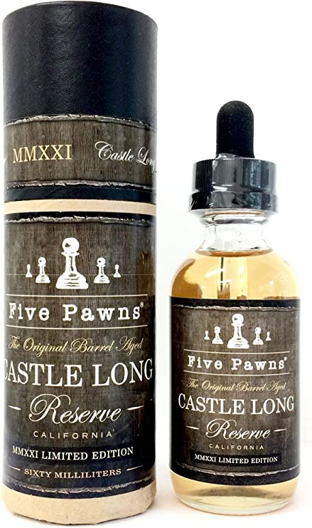 Amazon.co.jp: Five Pawns 60ml Castle Long Reserve 2020 MMXX E-Cigarette : Health & Personal Care