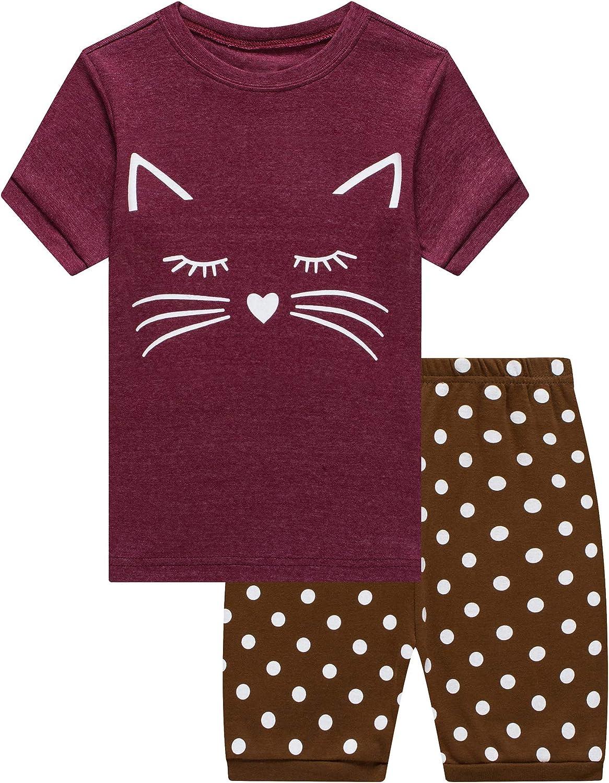 Family Feeling Boys Girls Pajamas Toddler Pjs 100% Cotton Kids Sleepwears