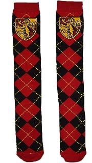 Gryffindor School Uniform Knee High Socks, Red, 9-11