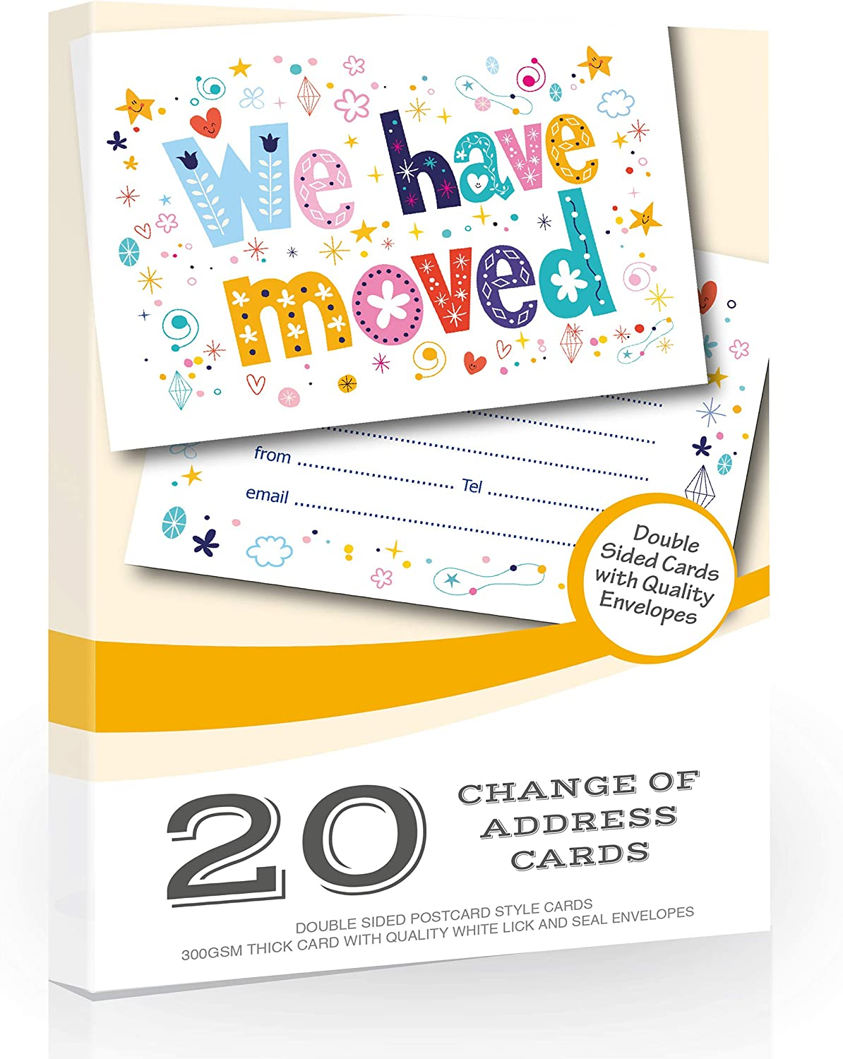 Boxes New Home Change Of Address Moving House Cards