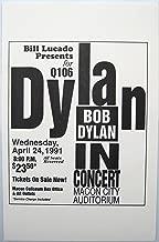 Oddtoes Music Memorabilia Bob Dylan Concert Poster 1991 Macon Georgia Rare Original collectable
