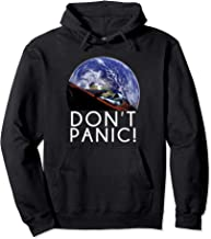 Starman Don't Panic! Space and Mars Exploration Hoodie