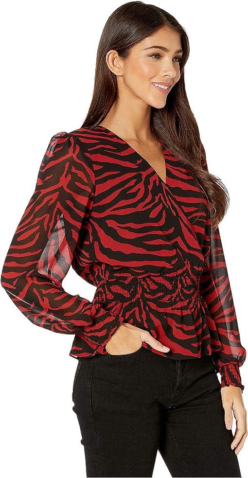 Red/Black Zebra