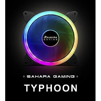SaharaGaming - Ventilador de 14 cm, Compatible con Sahara RGB o ...