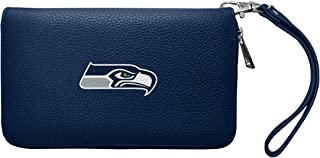 Littlearth NFL Womens Pebble Organizer Wallet with Zipper Closure