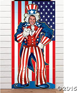 UNCLE SAM PHOTO DOOR BANNER by Fun Express