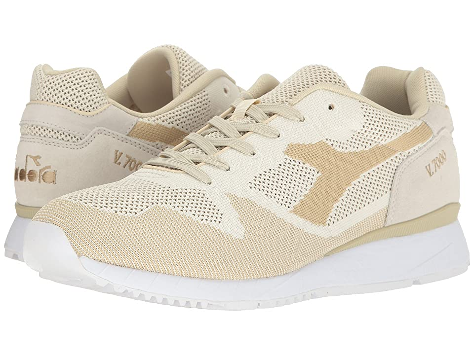 Diadora V7000 Weave (Beige Dew) Athletic Shoes