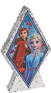 Ya Otta Pinata Frozen 2 Giant Pinata, Themed Party Supplies and Decoration, Metallic Silver