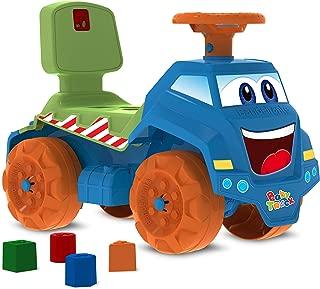 Caminhão Passo A Passo Caminhão, Azul, Bandeirante