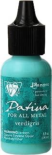 Ranger Vintaj Patinas - Open Stock .5 Ounce Bottles-Verdigris