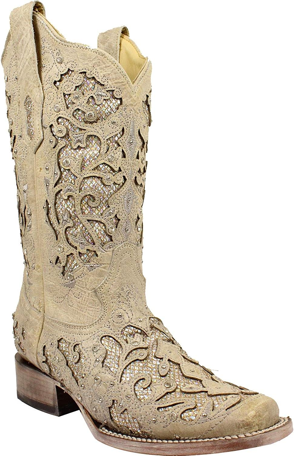 CORRAL Boots Womens A3397 White