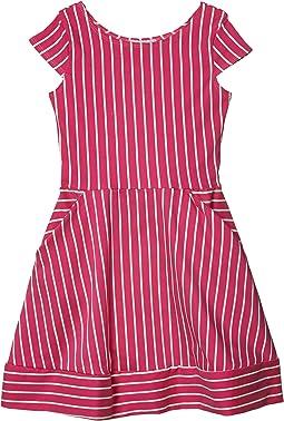 Kate Stripe Fit-and-Flare Dress (Big Kids)