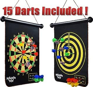 NomNom Toys Magnetic Dart Board for Kids, 18