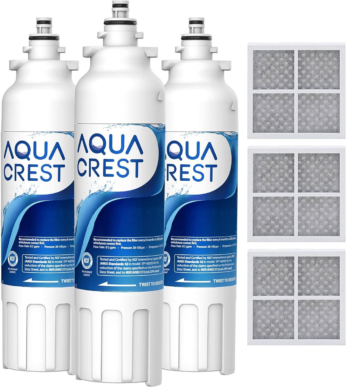 Manufacturer regenerated product AQUA CREST ADQ73613401 Refrigerator Filter and Water Air Albuquerque Mall