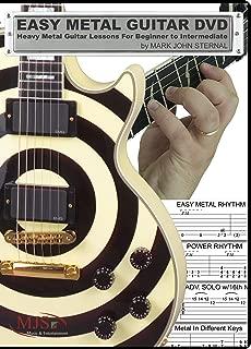 EASY METAL GUITAR Heavy Metal Guitar Lessons For Beginner through Intermediate