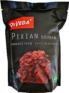 QiVeda Pixian Douban (Chili Bean Paste) [Doubanjiang] 1 Kilo 1000g (35.3oz) Non-GMO