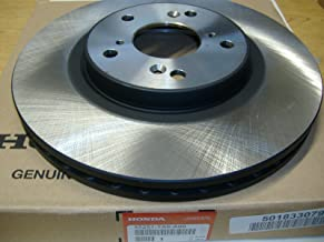 Honda Genuine OEM Front Brake Rotor - 45251-TA6-A00; 2003 to 2008 Pilot, 1994 to 2004 odyssey, 2003 to 2012 Accord EX, EX-L, V6