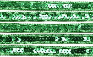 ALXY 5m 12mm Rubans de Dentelle à Sequins DIY Couture Dentelle Dentelle Tissu Tissu Vêtements Vêtements Accessoires Scrapb...